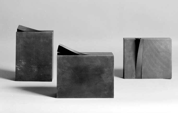 Peeling Elements I, VI & V, 1982. Collection of the artist.