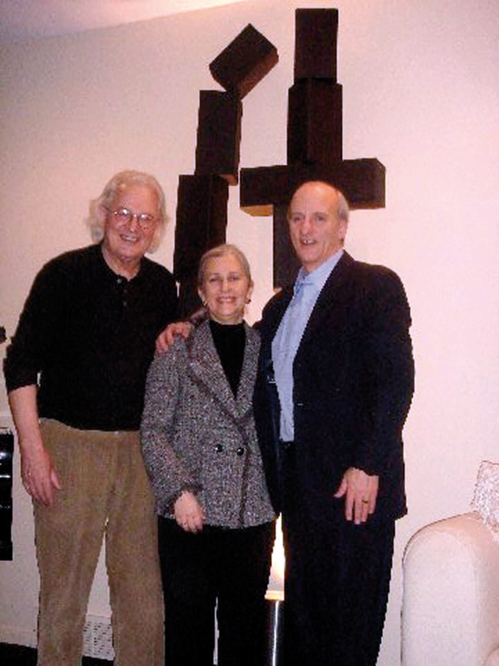 Ferrari with Linda Feinstein, lawyer, and husband Dr. Steven Feinstein