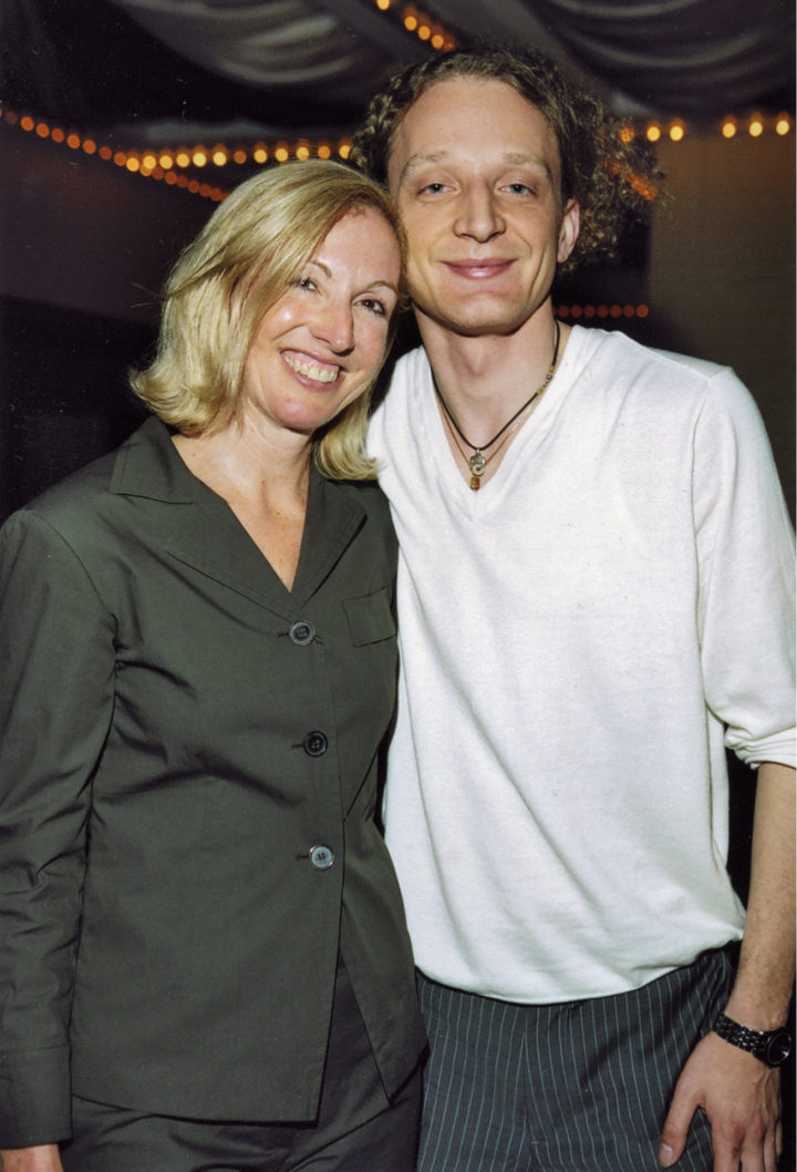 Susan Jacobson, advertising executive, with Marco