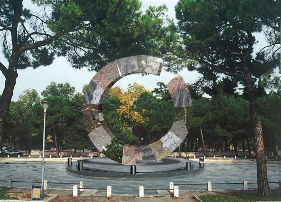Anello nel tempo—Proposal for Piazza Arsenale, Verona, Italy