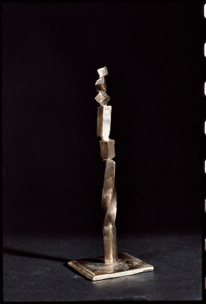 Bronzetto VI, 1989, bronze, 20 x 8 x 8 cm. Collection of the artist.