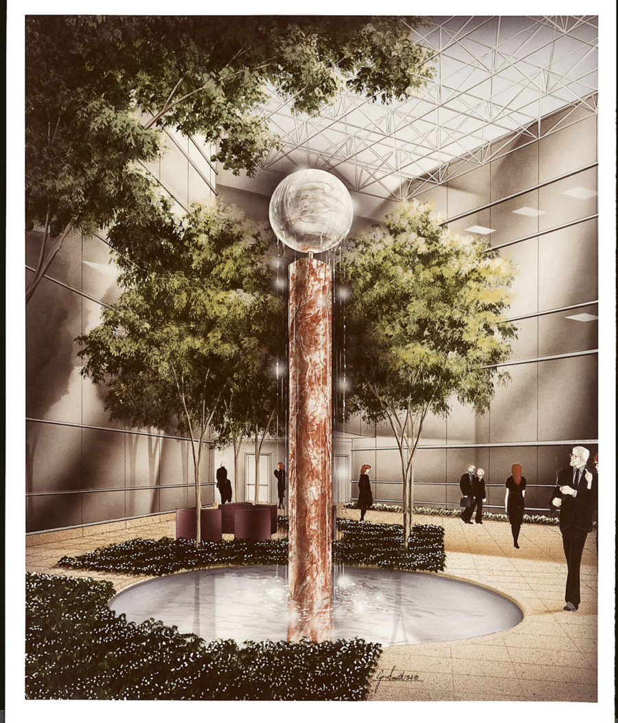Curiously with a Sphere—Proposal for the Grad Partnership, Newark, NJ