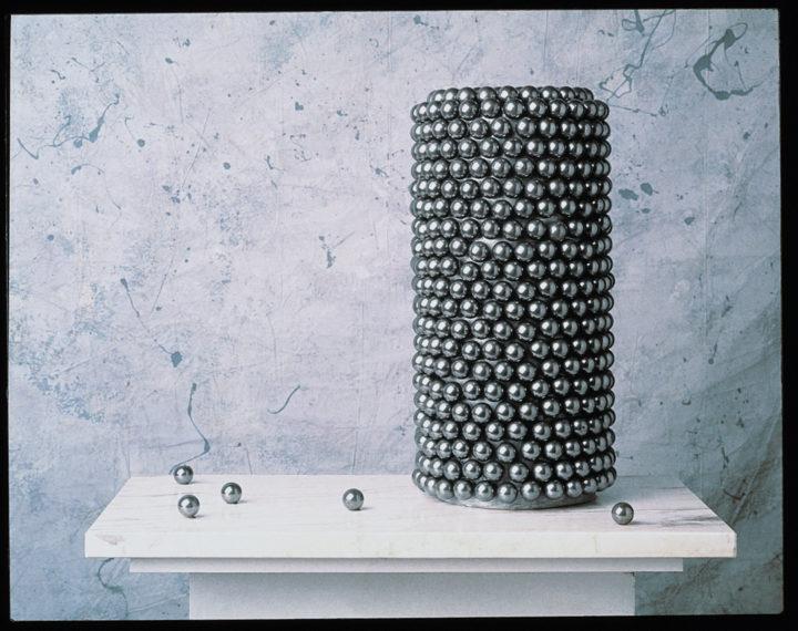 Cylinder of Spheres