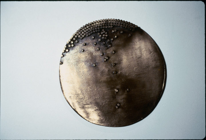 Dots on a Round Surface