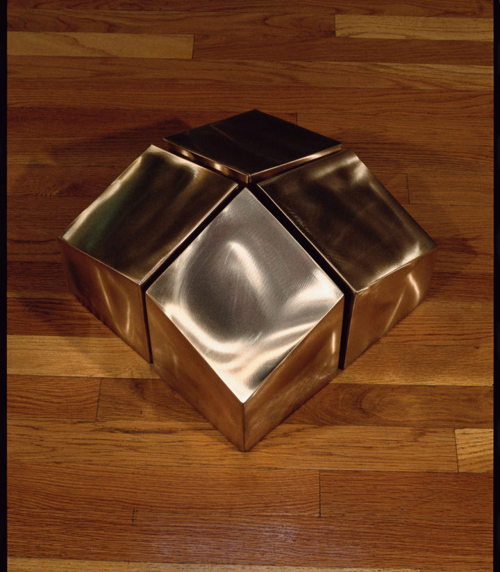Energy, 1991, bronze, 40.6 x 40.6 x 22.9 cm.  Collection of the artist