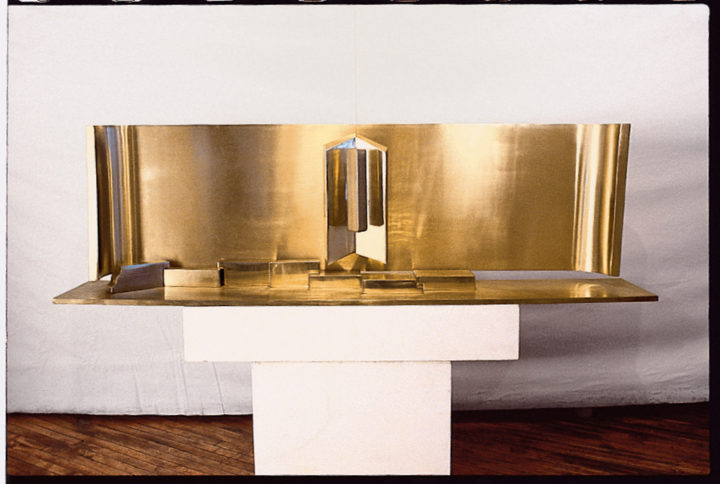 Proposal for the Richard J. Daley Memorial Tomb (maquette), Chicago, IL