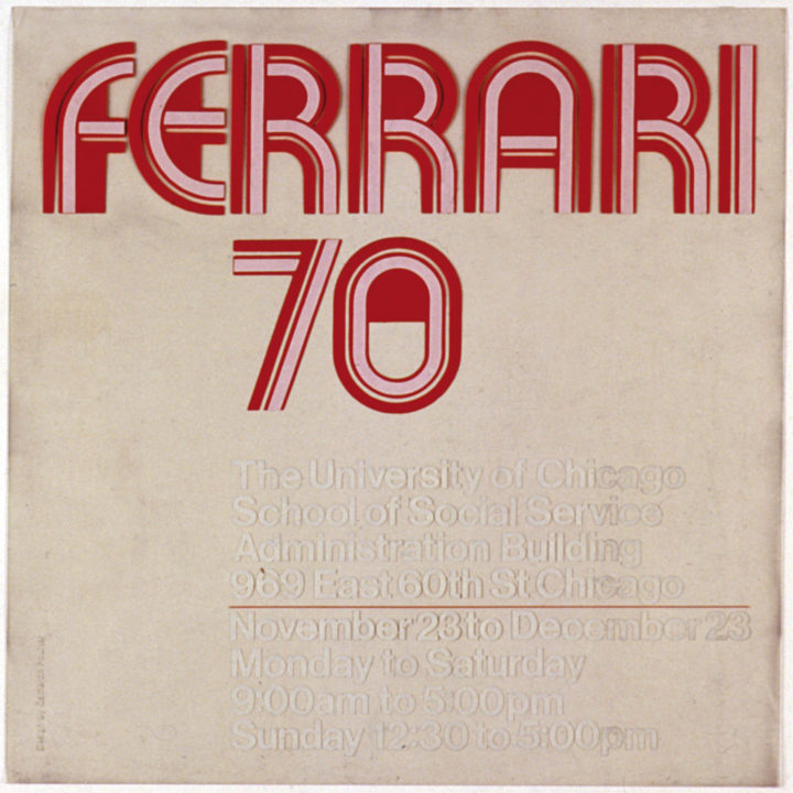 Ferrari 70: An Exhibition of Sculpture and Drawings by Virginio Ferrari