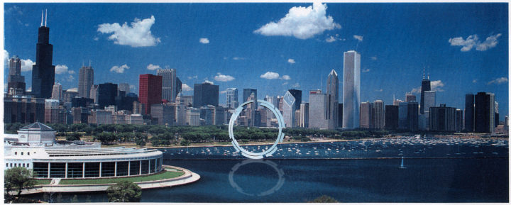 Formation of a Circle—Proposal for the Museum Campus, Chicago, IL