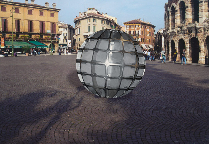 Globo—Proposal for Piazza Brà, Verona, Italy