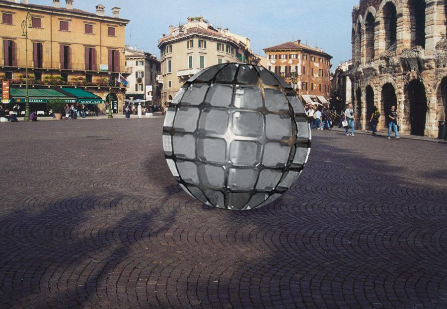 Globo—Proposal for Piazza Brà, Verona, Italy