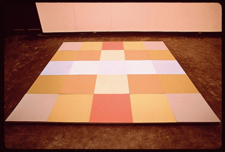 Park Proposal (scale model), 1971–1974, mixed media, 19 x 111.8 x 111.8 cm. Collection of the artist.