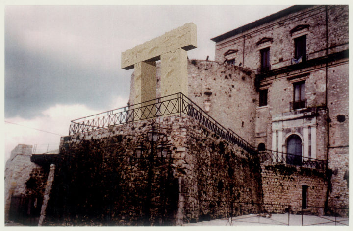 Porta Verona—Proposal for Castello Macchiaroli, Teggiano, Italy