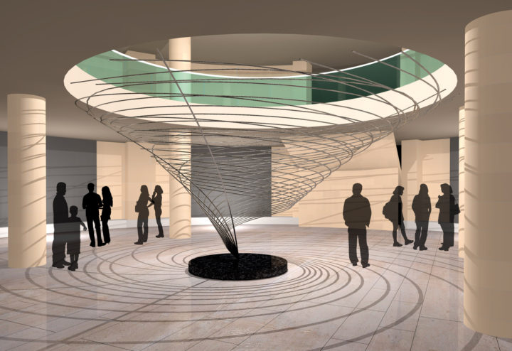 The Eye of the Tornado—Proposal for the McCormick Museum Foundation, Chicago, IL