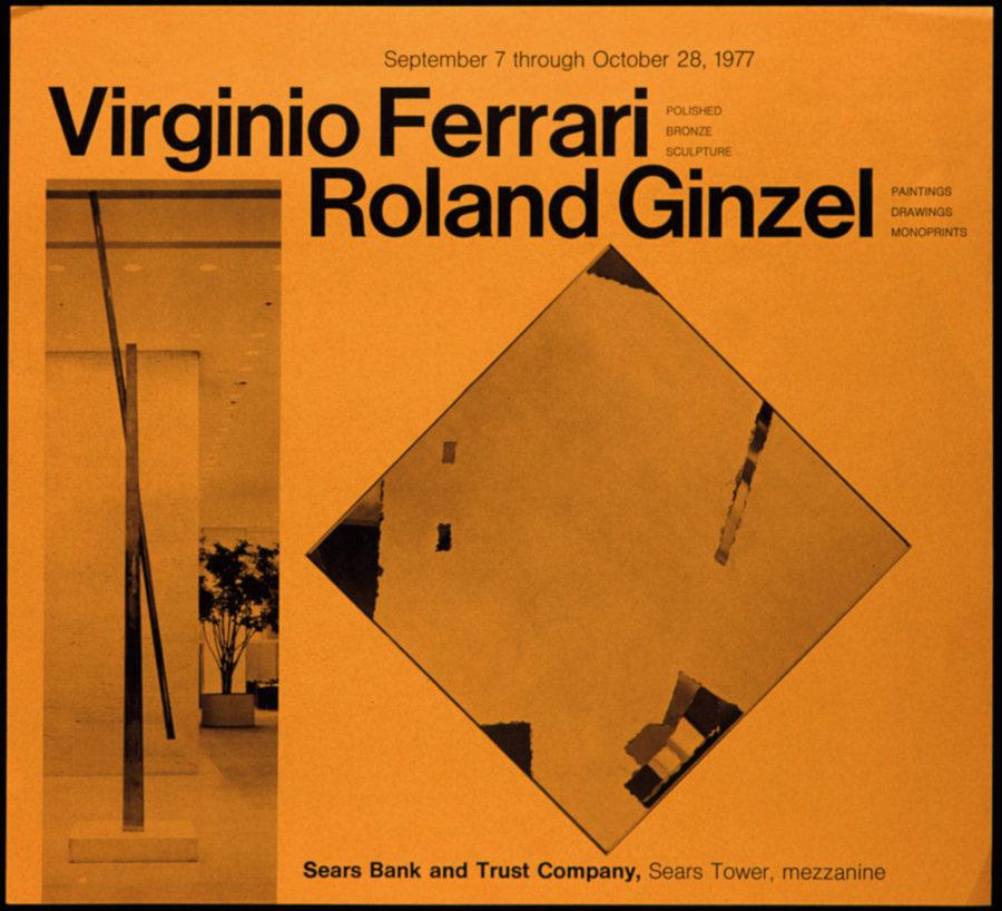 Virginio Ferrari: Sculpture – Roland Ginzel: Painting