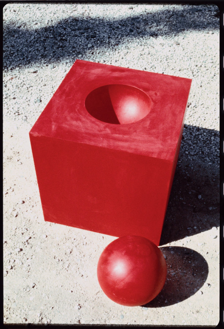 Cube with a Sphere